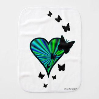 Paninho De Boca Coração e borboleta do arco-íris