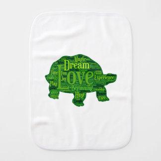 Paninho De Boca Design das crianças da tartaruga