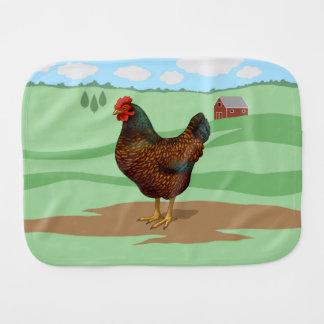 Paninho De Boca Eu amo minhas galinhas de Barnevelder