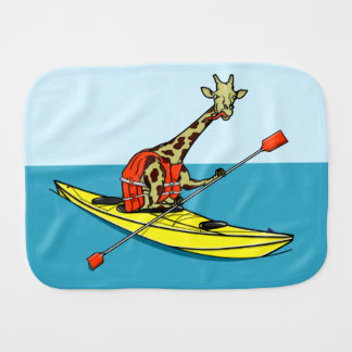 Paninho De Boca Girafa que Kayaking