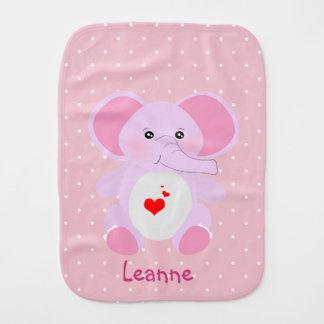 Paninho De Boca Menina branca cor-de-rosa bonito do elefante do