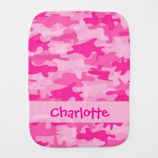 Paninho De Boca Nome cor-de-rosa fúcsia da camuflagem de Camo