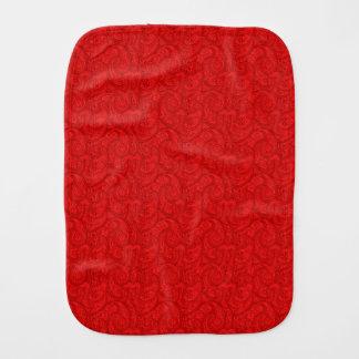 Paninho De Boca Paisley vermelho