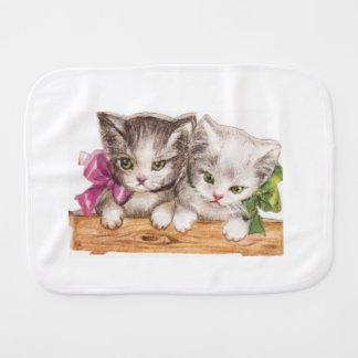 Paninho De Boca Pano do Burp dos gatinhos