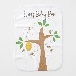 Paninho De Boca Pano doce do Burp da abelha do bebê