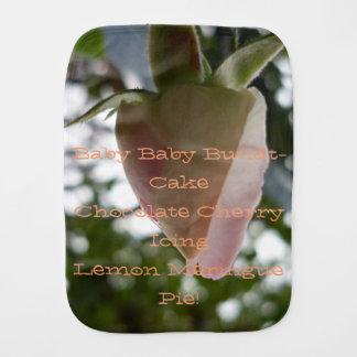 Paninho De Boca poema do rosebud do bebê do amor e da alegria que