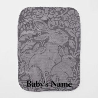 Paninho De Boca Presente personalizado do bebê de pano do Burp do