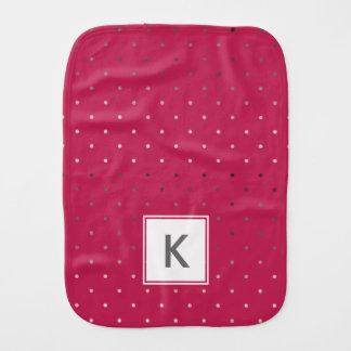 Paninho De Boca teste padrão de bolinhas cor-de-rosa do rosa do
