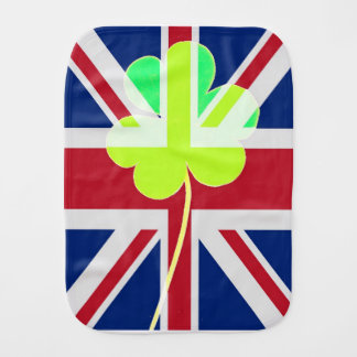 Paninho De Boca Trevo britânico irlandês St Patrick Reino Unido do