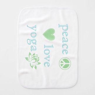 Paninho Para Bebês Amor e ioga da paz