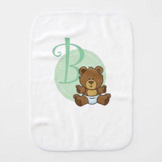 Paninho Para Bebês B é para um urso