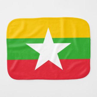 Paninho Para Bebês Bandeira de Burma