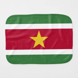 Paninho Para Bebês Bandeira de Suriname