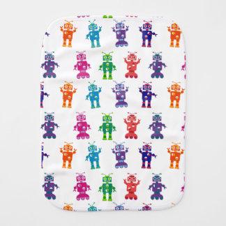 Paninho Para Bebês Bebê louco colorido moderno do robô