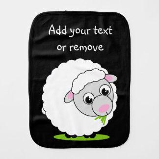 Paninho Para Bebês Carneiros woolly brancos bonitos e peluches do