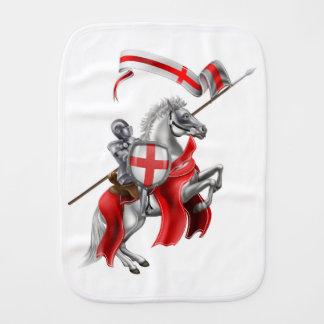 Paninho Para Bebês Cavaleiro medieval de St George no cavalo