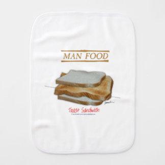 Paninho Para Bebês Comida do homem de Tony Fernandes - sanduíche do