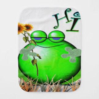 Paninho Para Bebês frog3hi