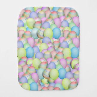 Paninho Para Bebês Fundo colorido dos ovos da páscoa