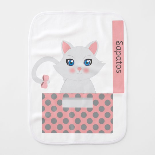 Paninho Para Bebês Gato na caixa