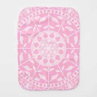 Paninho Para Bebês Mandala cor-de-rosa