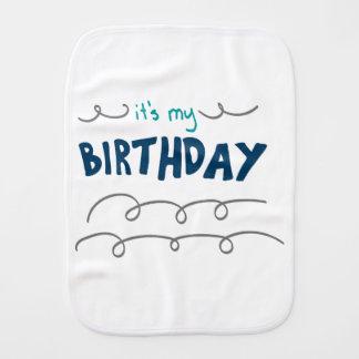 Paninho Para Bebês Menino do aniversário