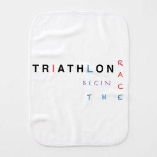 Paninho Para Bebês O Triathlon deixou a raça começar