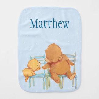 Paninho Para Bebês O urso de Brown grande ajuda pouco urso amarelo