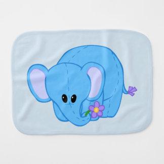 Paninho Para Bebês Pano peluches do Burp do amigo do elefante