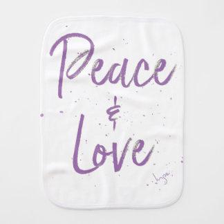Paninho Para Bebês Paz-e-Amor-Roxo