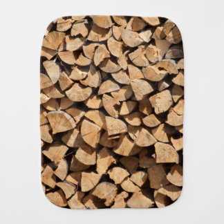 Paninho Para Bebês Pilha da madeira