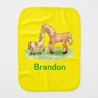Paninho Para Bebês Pônei equestre do cavalo unisex do menino do bebé