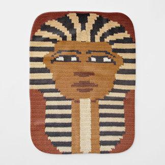 Paninho Para Bebês Rei egípcio antigo Brown Crochet Imprimir do faraó