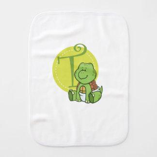 Paninho Para Bebês T é para a tartaruga