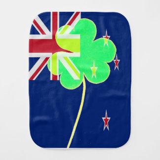 Paninho Para Bebês Trevo St Patrick do trevo da bandeira de Nova