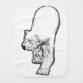 Paninho Para Bebês Urso polar que Prowling