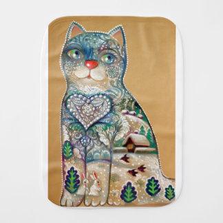Paninho Para Bebês winter cat