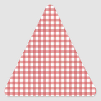 Pano Checkered vermelho