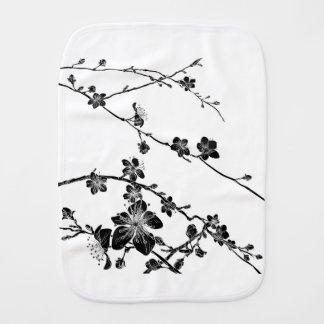 Pano De Boca A flor de cerejeira floresce o teste padrão do