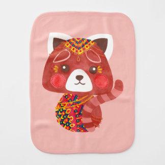 Pano De Boca A panda vermelha bonito
