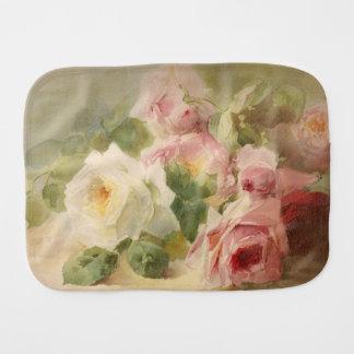 Pano De Boca Aguarela cor-de-rosa do Victorian do vintage