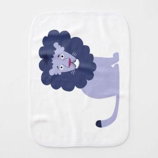 Pano De Boca Azul azul do leão
