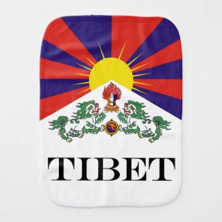 Pano De Boca Bandeira da bandeira do leão de Tibet ou de neve