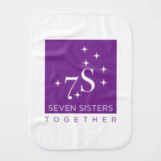 Pano De Boca Bebê de sete irmãs!