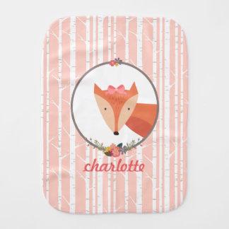 Pano De Boca Bebé do Fox personalizado