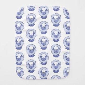 Pano De Boca Carneiros azuis bonitos