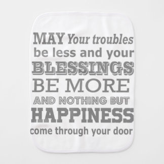 Pano De Boca Citações da casa da felicidade
