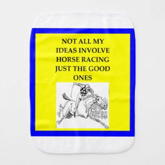Pano De Boca corrida de cavalos