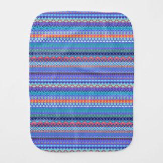 Pano De Boca Design abstrato listrado tribal do teste padrão