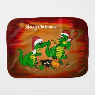 Pano De Boca Dragões - Feliz Natal! Hoje eu cozinharei